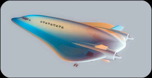 SEN 27 Dolphin orbital shuttle by donaguirre