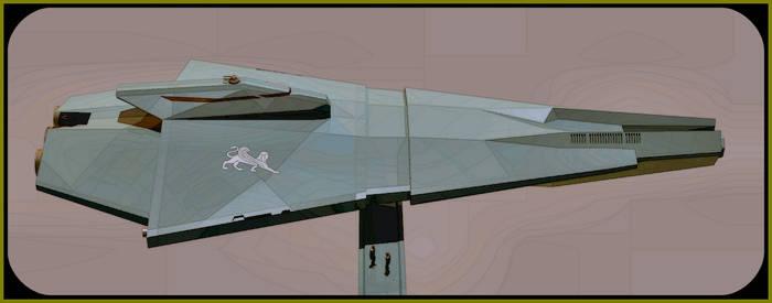 Type 207 Torpedo Corvette by donaguirre