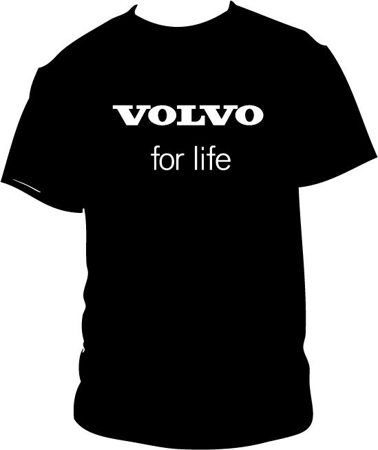 volvo for life t shirt by joel87 on deviantart. Black Bedroom Furniture Sets. Home Design Ideas