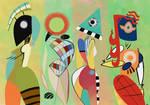 Las Musas De Kandinsky by ClassyChassiss