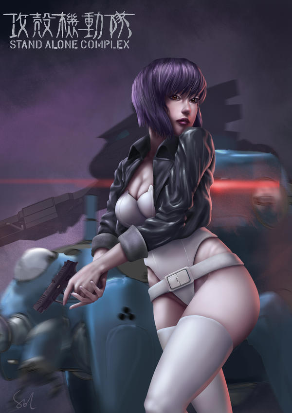 Ghost in the Shell-- Kusanagi Motoko by Raphire