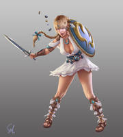 Sophitia! by Raphire