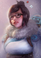 Overwatch: Mei by Raphire