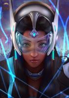 Overwatch: Symmetra by Raphire