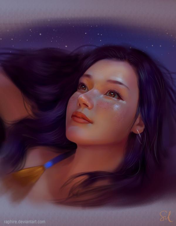 Portrait Study 010218 by Raphire