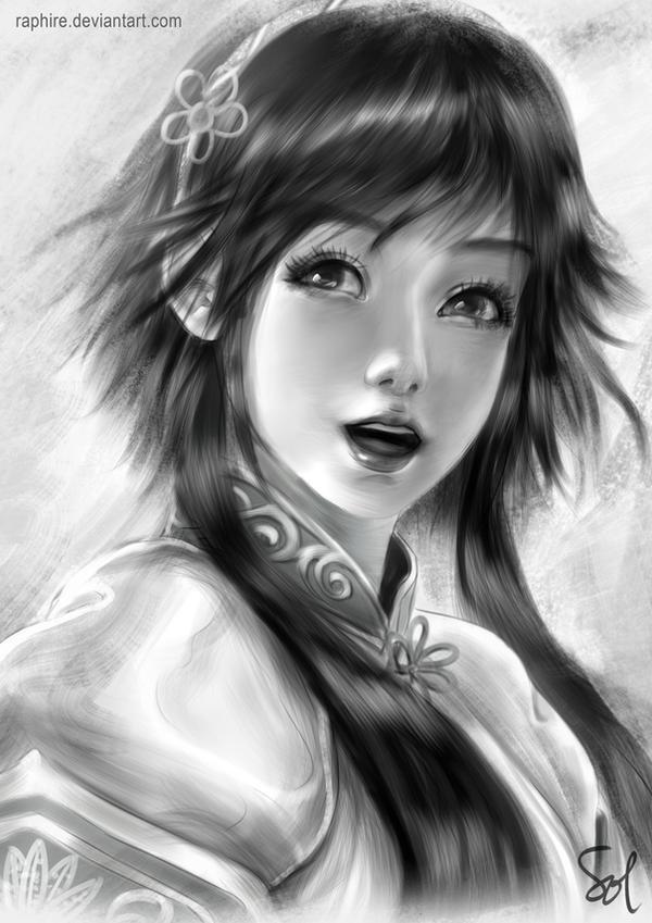 Xianghua Portrait by Raphire