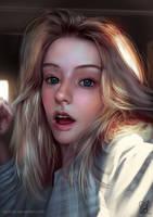Portrait Study 220618 by Raphire