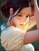 Portrait Study 260618 by Raphire
