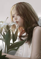 Portrait Study 080119 by Raphire