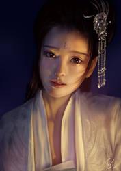 Portrait Study 090119 by Raphire