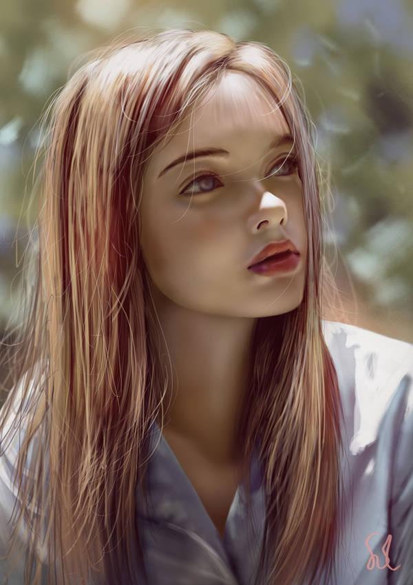 Portrait Study 170119 by Raphire