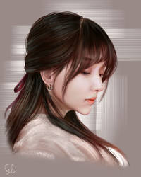 Portrait Study 230119 by Raphire