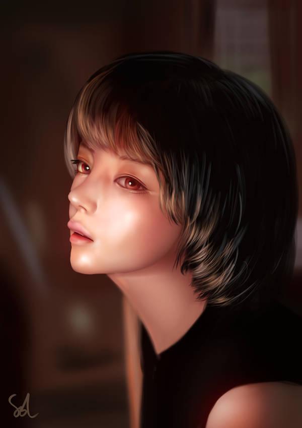Portrait Study 240119 by Raphire
