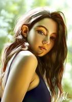 Portrait Study 040319 by Raphire