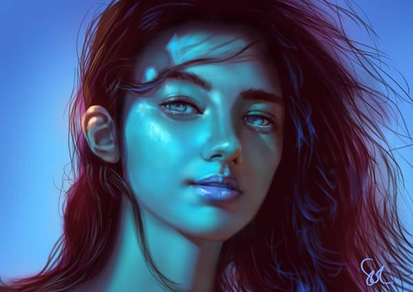 Portrait Study 110319 by Raphire