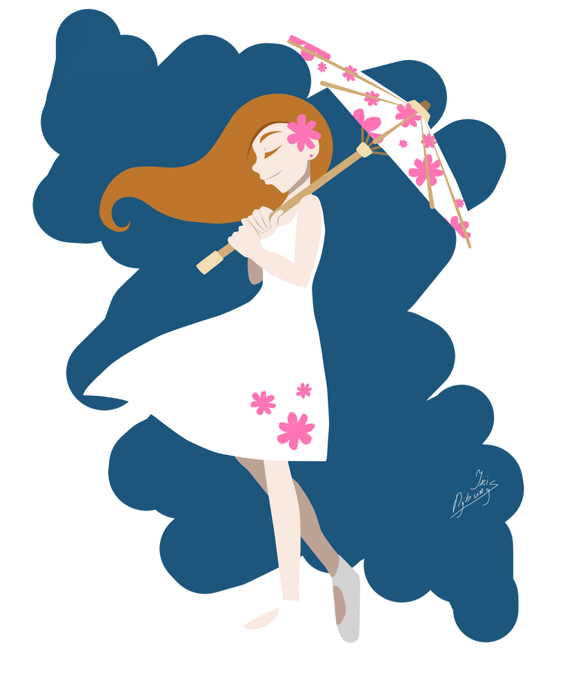 Parasol Girl by wiane