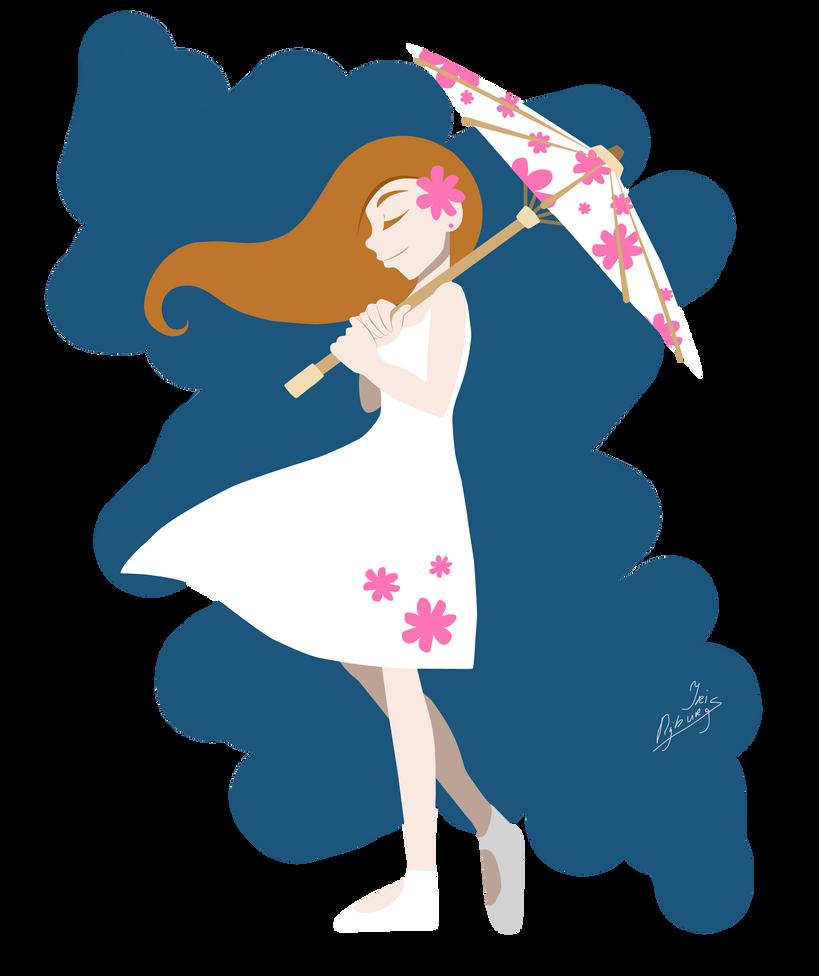 Parasol Girl by wiane