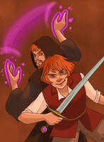 Trebond Twins by amoret-elf