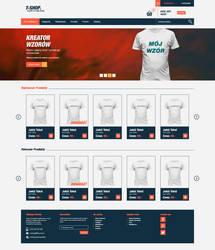 T-SHOP, t-shirt online shop