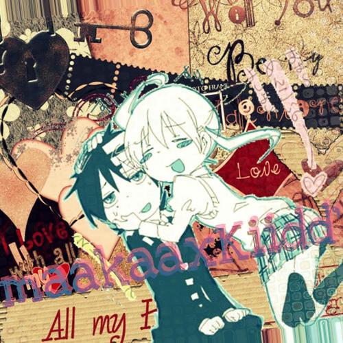 Kid and Maka by CHVampaiiaxInuzuka
