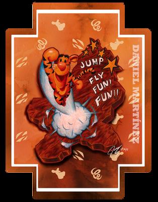 Jump, fly, fun! FUN!! - Tigger by Ikanana