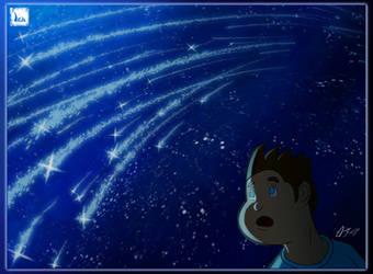 Looking at the stars by Ikanana