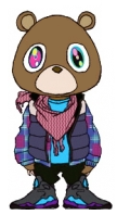 Kanye West Teddy Bear by star4