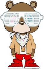 Kanye West Bear by star4