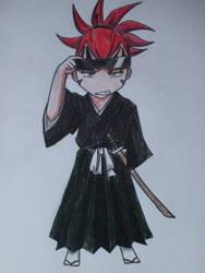 Chibi Renji by riku0roxas