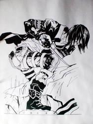 Anime Dude by riku0roxas