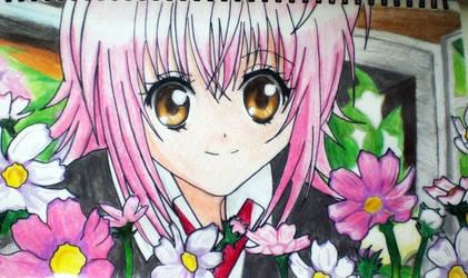 Amu Hinamori Flowers -finished by riku0roxas
