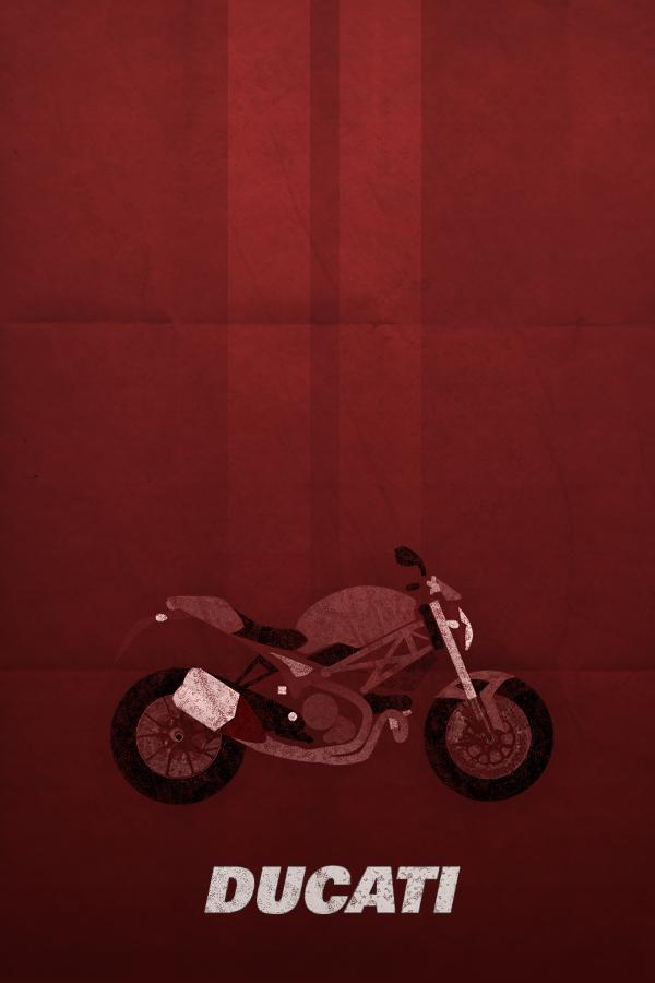 Ducati Monster Art For Sale