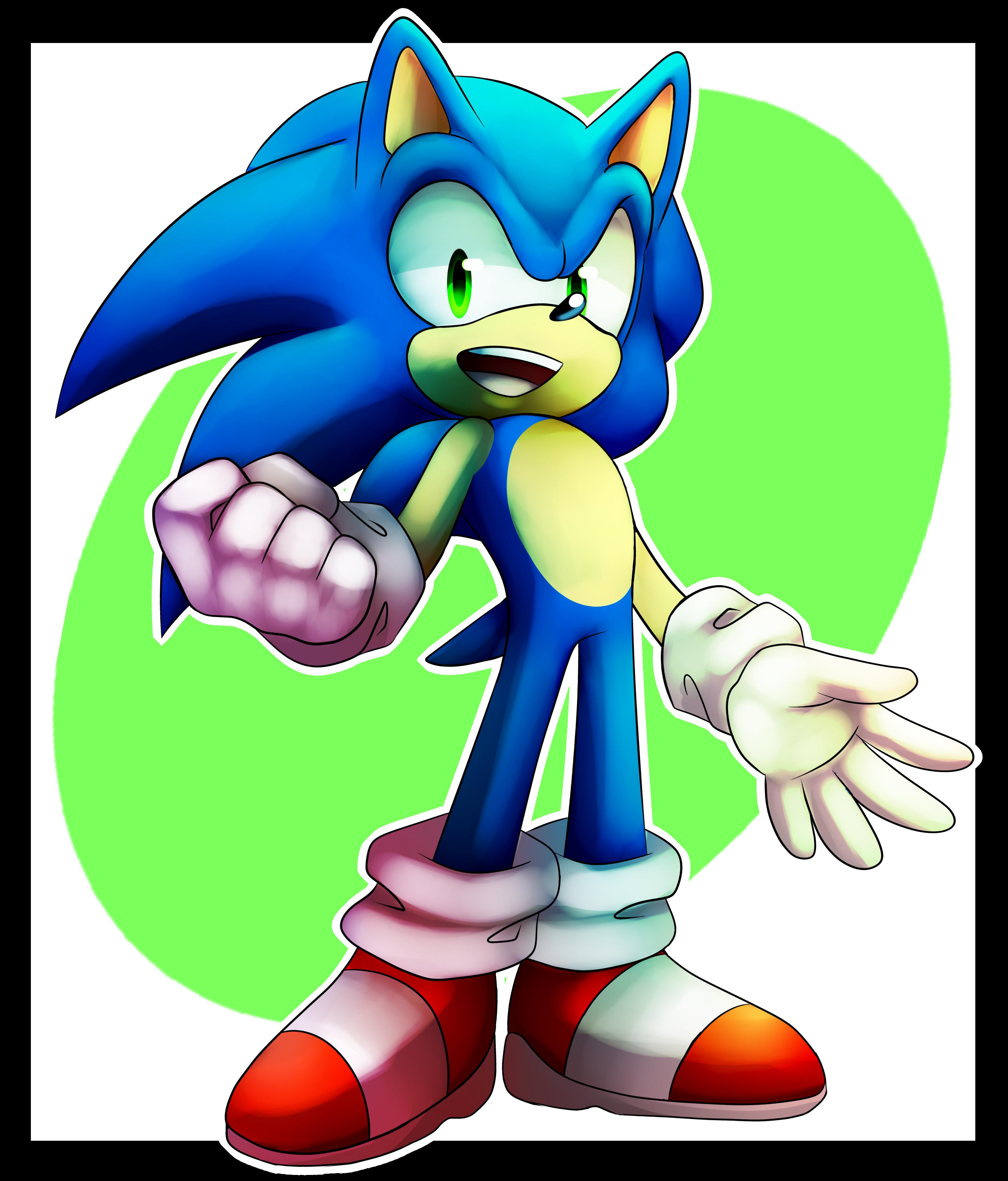 Sonic by BlazingLillyArtz