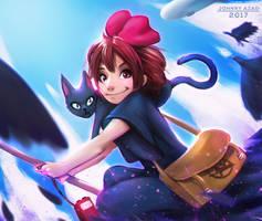 Kiki's Delivery Service by JohnnyAzad