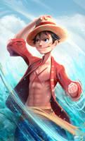Monkey D. Luffy by JohnnyAzad