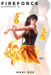 Fire Force - Maki Oze