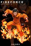 Fire Force - Shinra Kusakabe