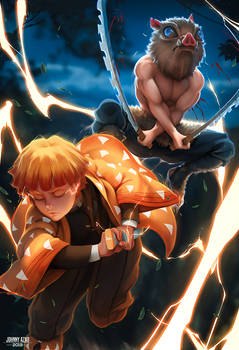 Demon Slayer: Zenitsu and Inosuke