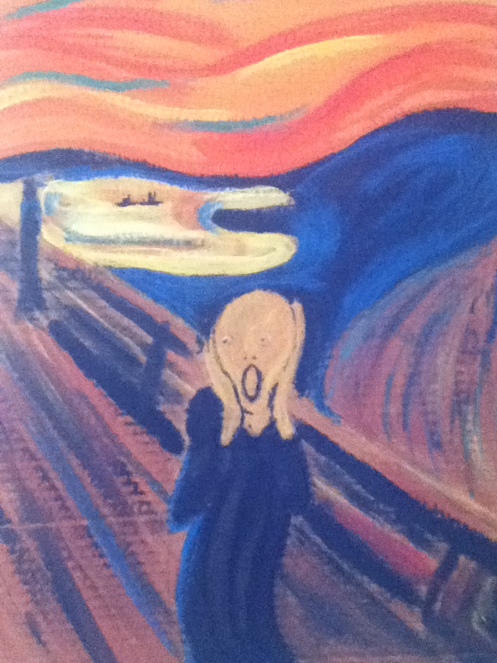 The scream by Black-Jack-Attack