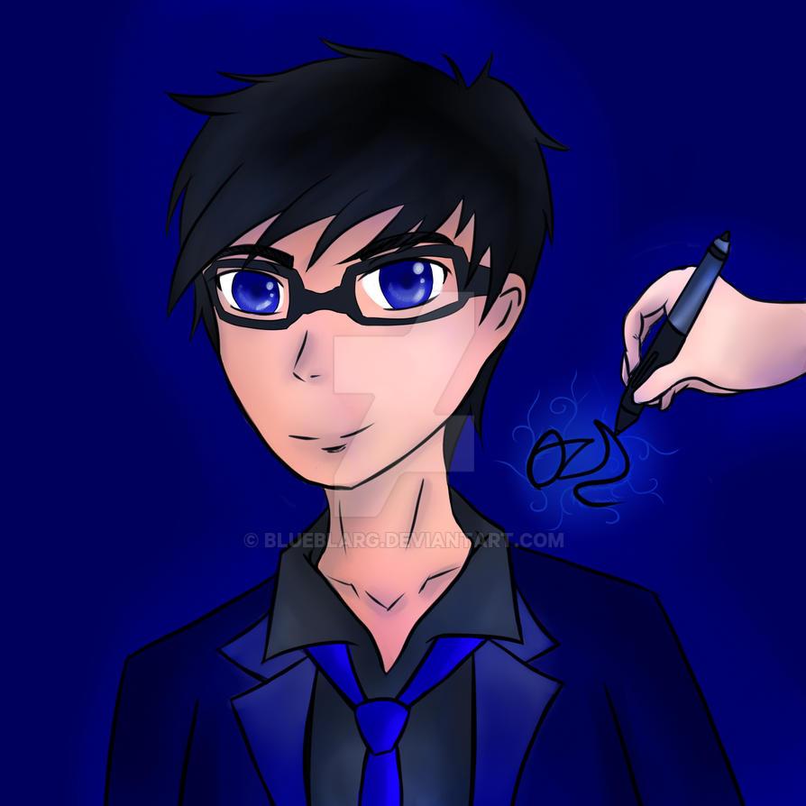 Self Portrait Ozd by BLUEBLARG