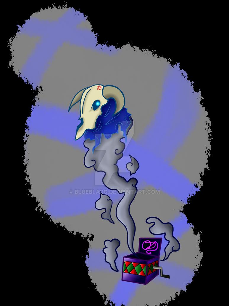 Ghost OX Skull by BLUEBLARG