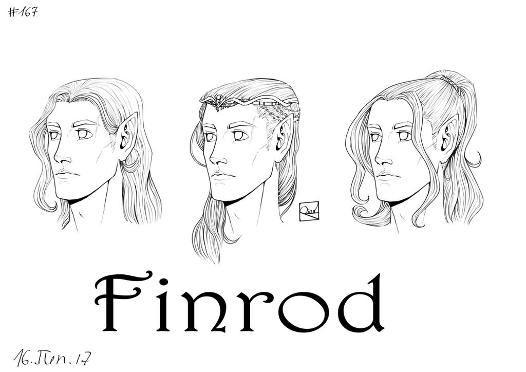 Finrod's hair by Rina-from-Shire