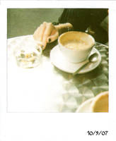 Coffee in Soho by chloefairy