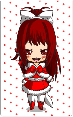 Erza Scarlet in a Christmas outfit by Otaku212223 on DeviantArt