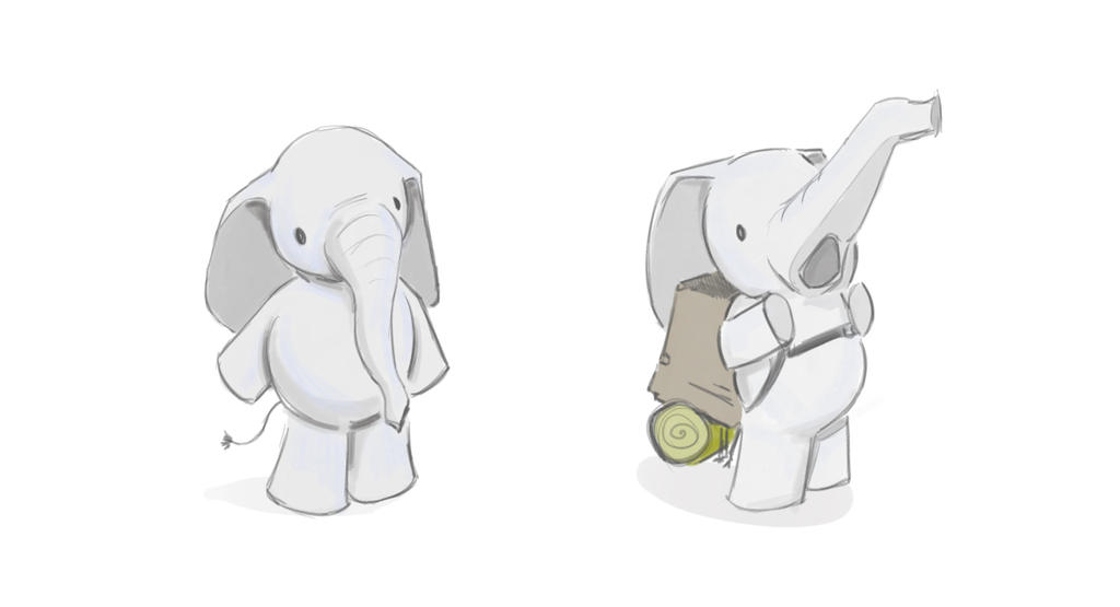 Mascot concept - elephant by subverity