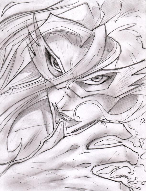 Firestar Classic Sketchshot by StevenSanchez