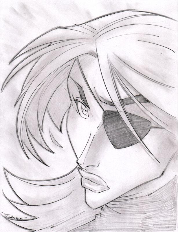 Alisande Sketchshot by StevenSanchez