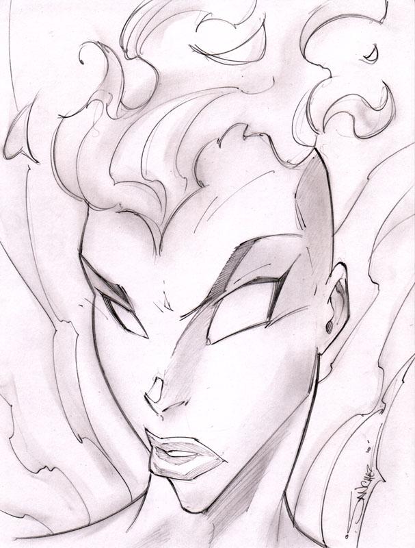Gehenna Sketchshot by StevenSanchez