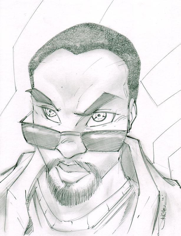 Kevin 01 Sketchshot by StevenSanchez