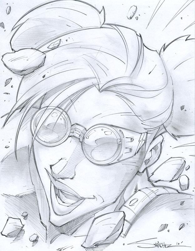Kegan Sketchshot by StevenSanchez